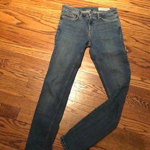 All Sanits denim jeans